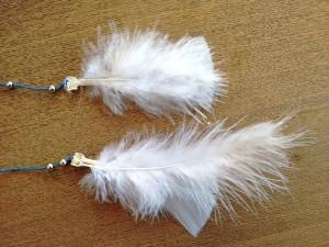 03. Adornos cintas detalle plumas como hacer atrapasueños tutorial trizas y trazos