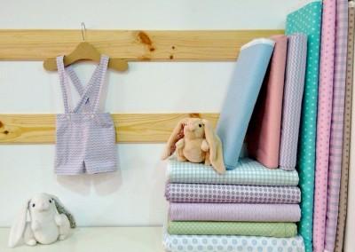 Costura: pantalón de bebé