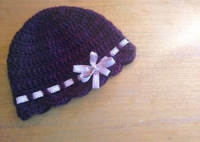 tutorial ganchillo instrucciones gorro lana mujer facil con lazo trizas y trazos