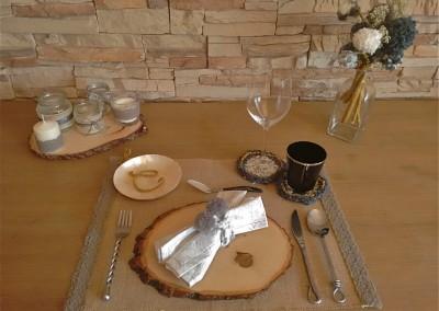decoración de mesa de invierno navidad Cecilia Garcia Rodrigo trizas y trazos