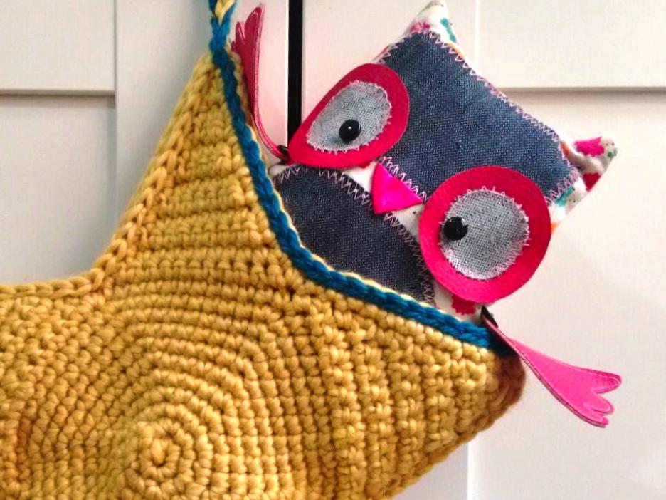 tutorial cómo hacer estrella ganchillo crochet bolsa trizas y trazos símbolos detalle apertura
