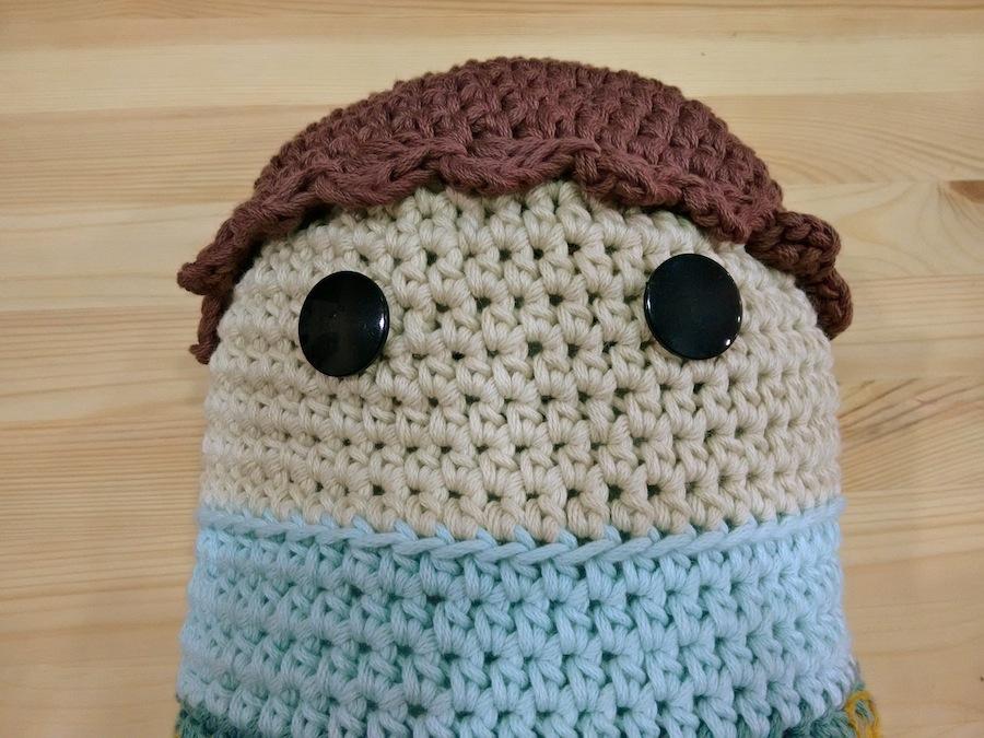 Crochet amigurumi ganchillo xl algodón natura xl dmc trizas y trazos 13