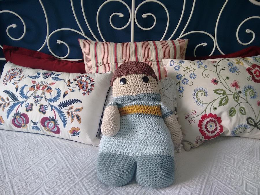 Crochet amigurumi ganchillo xl algodón natura xl dmc trizas y trazos 25