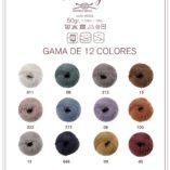 Carta de color Woolly Heritage