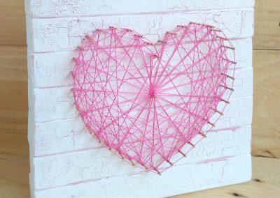 Little Noa string art corazón