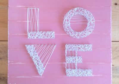Little Noa string art love