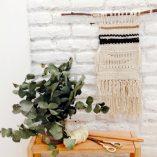 Taller tapiz Trizas y Trazos negro