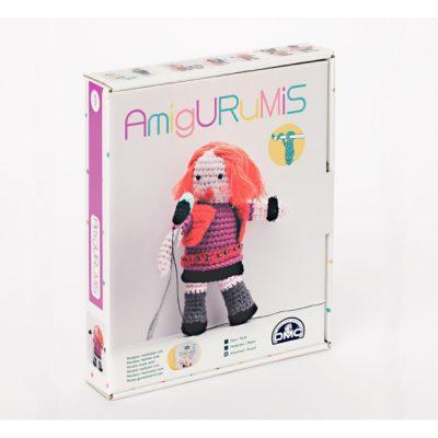 Kit de amigurumi Amigos DMC caja