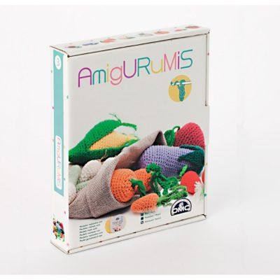 Kit de amigurumi verduras DMC caja
