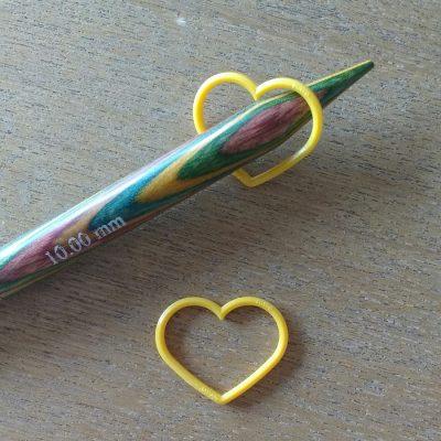 marcadores xl tulip corazón amarillo rojo marrón