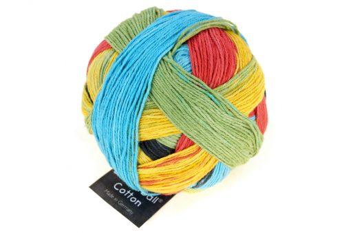 Zauberball® Cotton 2338_ A Real Change 100% Cotton(Organic)