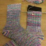 Retrosaria Rosa Pomar Mondim calcetines