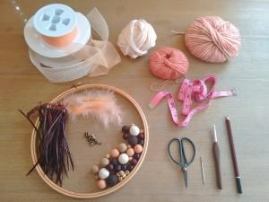 00. Materiales como hacer atrapasueños tutorial trizas y trazos