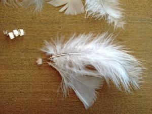 03. Adornos cintas colocar plumas como hacer atrapasueños tutorial trizas y trazos