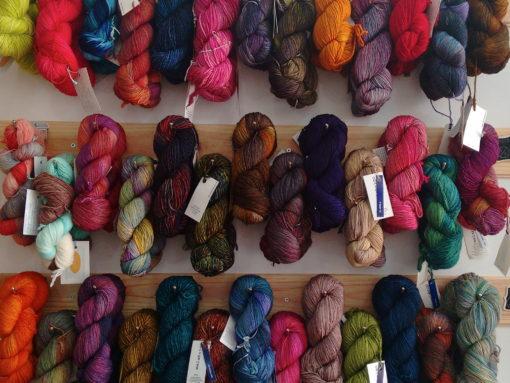 Trizas y trazos lanas malabrigo