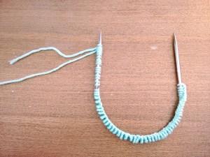 01. Punto tejer paso a paso tutorial gorro y bufanda para bebé - Montar