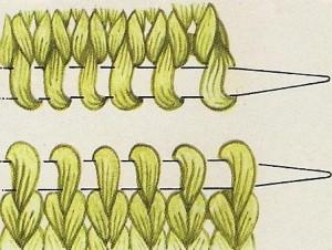 Cómo hacer remallado grafting costura invisible punto jersey 01