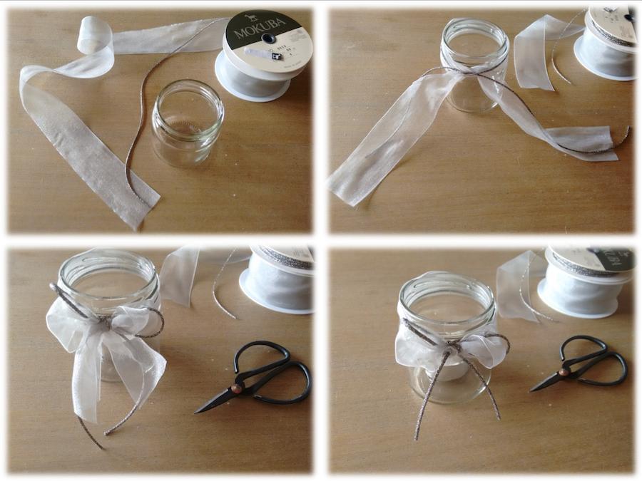04 Tutorial cómo adornar velas cintas trizas y trazos - vela 4