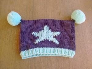 Punto tejer paso a paso tutorial conjunto gorro y bufanda para bebé trizas y trazos gorro