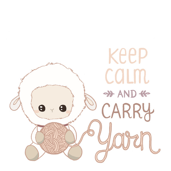 carry yarn