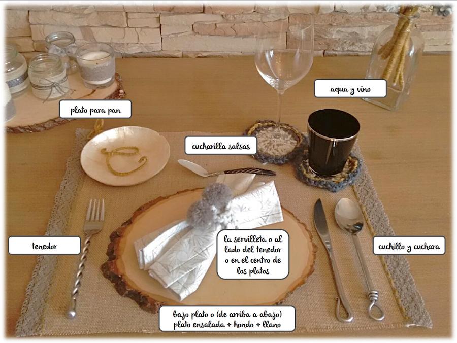 protocolo informal decoración de mesa de invierno navidad Cecilia Garcia Rodrigo