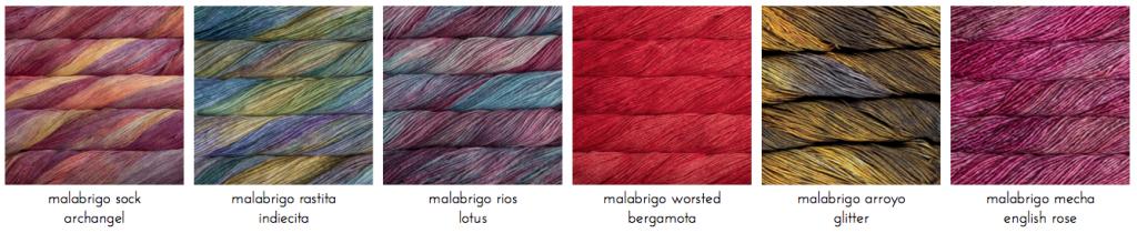 lanas malabrigo trizas y trazos