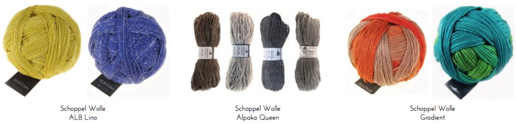 lanas schoppel wolle trizas y trazos