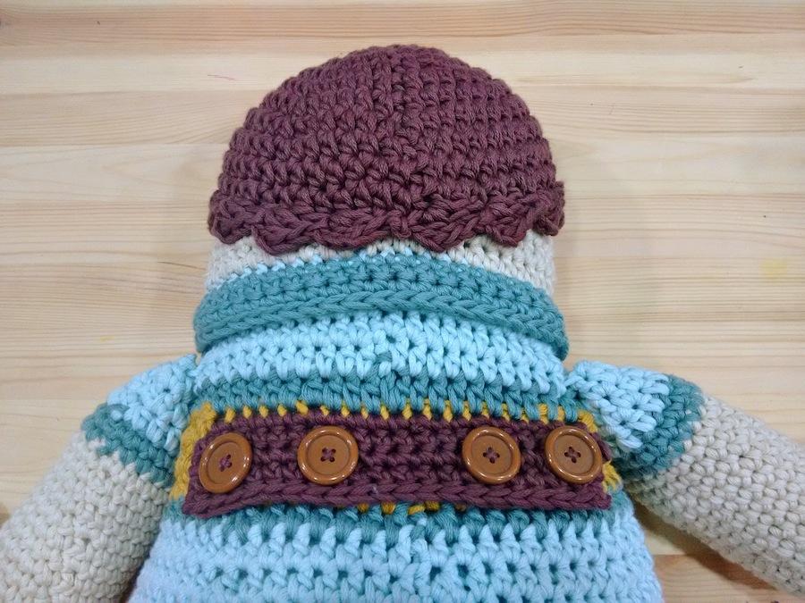 Crochet amigurumi ganchillo xl algodón natura xl dmc trizas y trazos 19