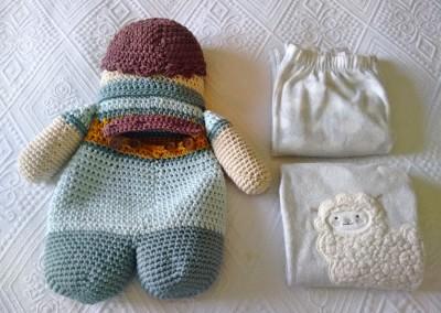 Crochet amigurumi ganchillo xl algodón natura xl dmc trizas y trazos 23